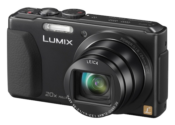 The Panasonic LUMIX DMC-TZ40 Digital Camera
